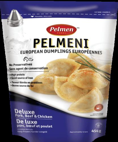 Deluxe (Pork, Beef & Chicken) Pelmeni